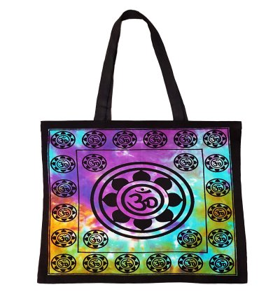 Om Lotus Tote Bag