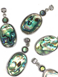 Paua Shell Pendants