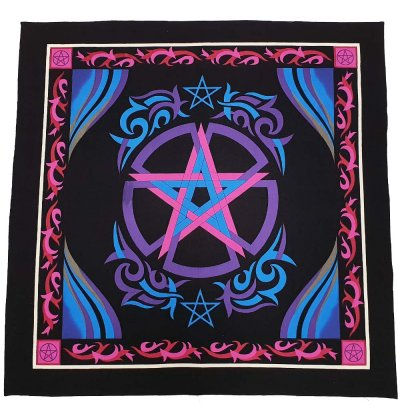 Pentacle Altar Cloth