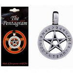 Pewter Pentagram Pendant & Necklace