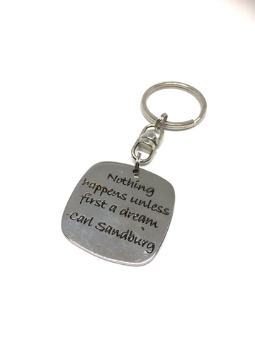 Poetic Key Ring - Blue Turtles