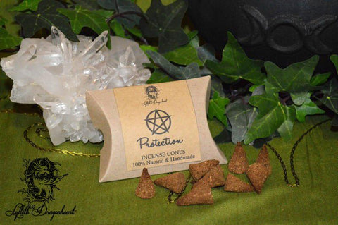 Lyllith Dragonheart Protection - Incense Cones