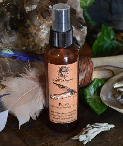 Purity - White Sage Smudging Spray 125ml  (Lyllith Dragonheart)