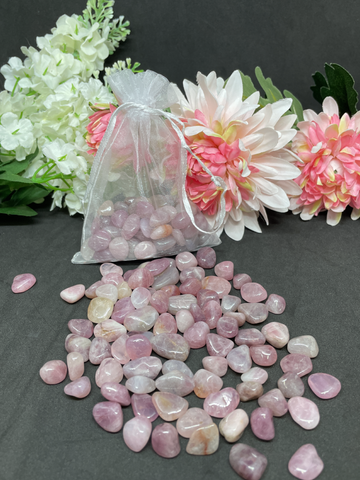 Purple Rose Quartz Crystal Chips (Large) - 100g