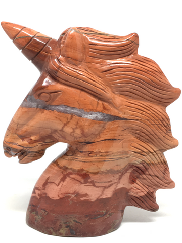 Red Jasper Unicorn # 156