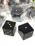 Black Agate Dice