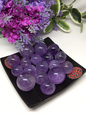 Amethyst Spheres - Small
