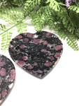Spinel Heart Slice
