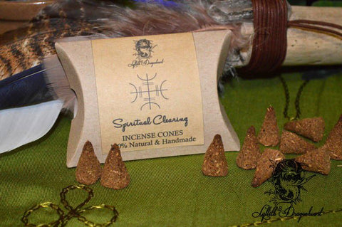 Lyllith Dragonheart Spiritual Clearing - Incense Cones