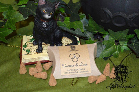 Lyllith Dragonheart Success & Luck - Incense Cones