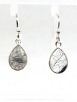 Tourmalated Quartz Sterling Silver Earrings
