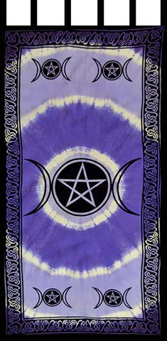 Triple Moon Pentacle Curtain