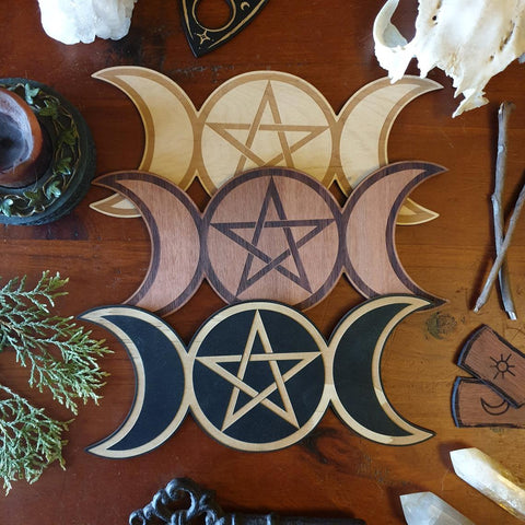 Triple Goddess Altar Tile