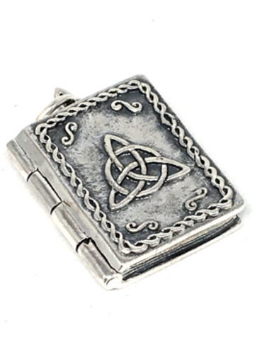 Charmed Book of Shadows Locket Pendant 925 Sterling Silver
