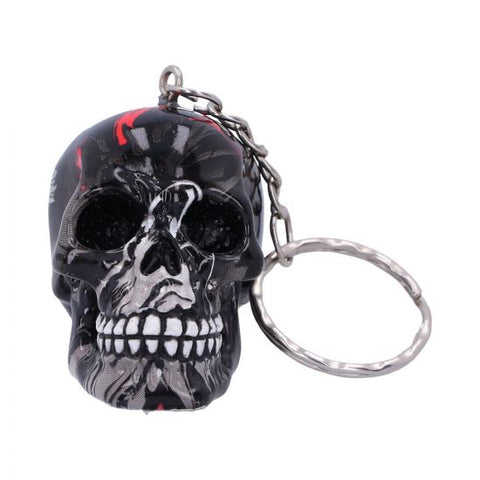 Haze Skull Key Ring