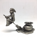 Witch Pewter Sphere Stand