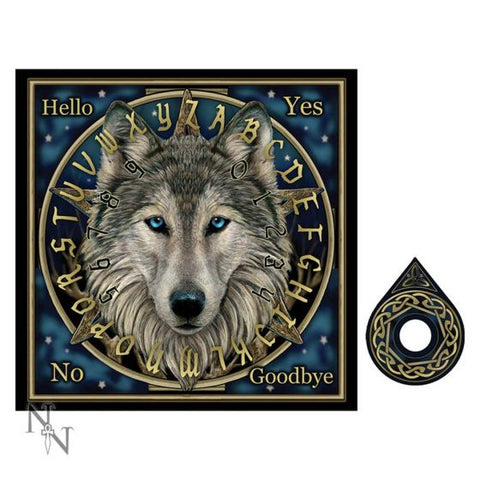 Wolf Spirit Board by Lisa Parker - 38.5cm