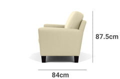 Alana 2 Seater Lounge Depth Height