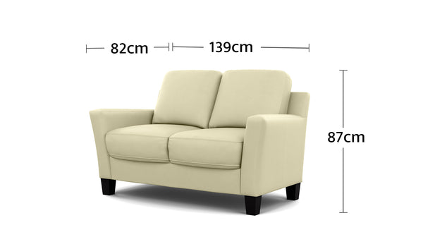 Alana 2 Seater Dimensions