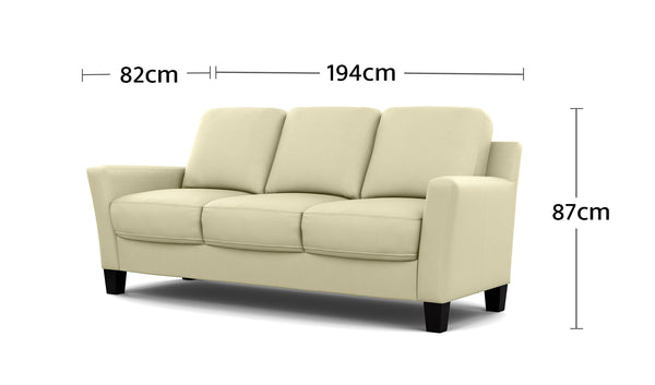 Alana 3 Seater Dimensions
