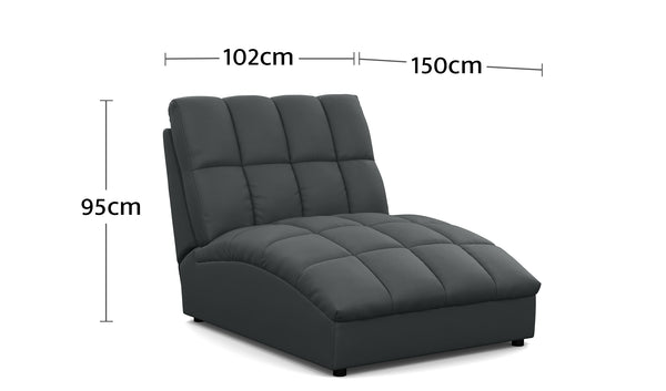 Atlas Chaise Dimensions