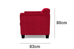 Bingo 2.5 Seater Lounge Depth Height
