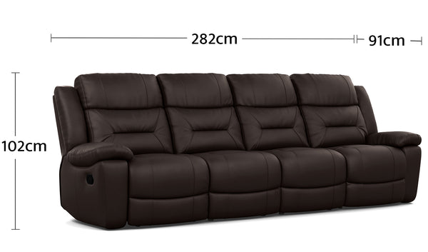Becky 4 Seater Dimensions