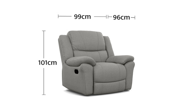Boston Recliner Dimensions