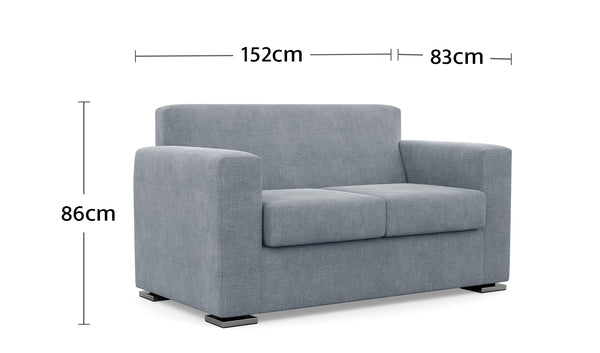Bowral 2 Seater Dimensions