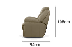 Comfy Recliner Depth Height