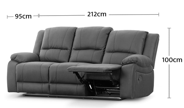 3 Seater Dimensions