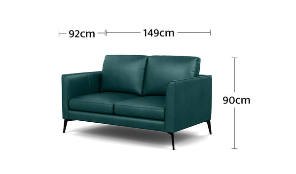 Carter 2 Seater Dimensions