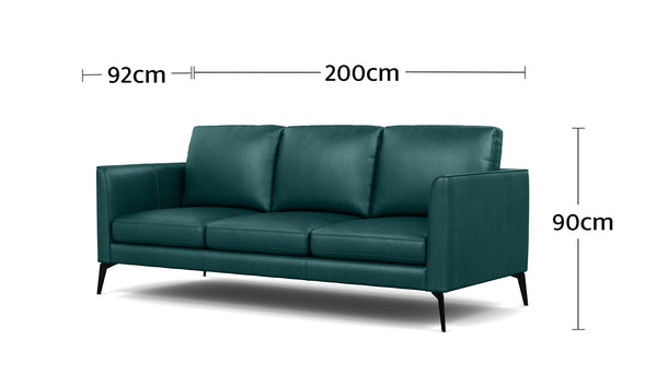 Carter 3 Seater Lounge Dimensions