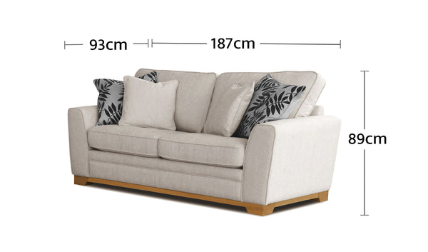 Fairhaven 2 Seater Dimensions