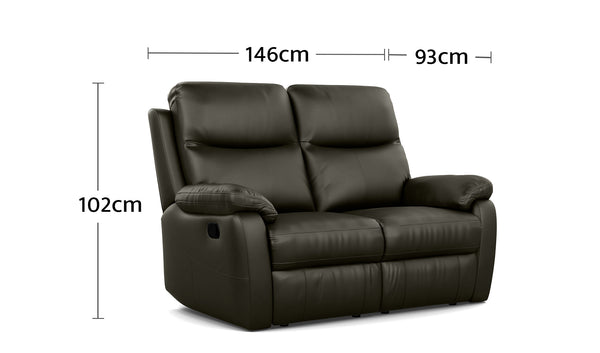 Hampton 2 Seater Dimensions