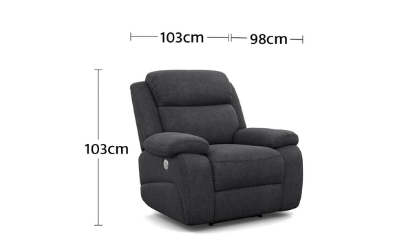 Harley Recliner Dimensions