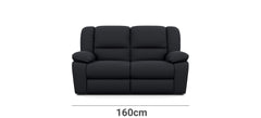 Harmony 2 Seater with End Recliners Width