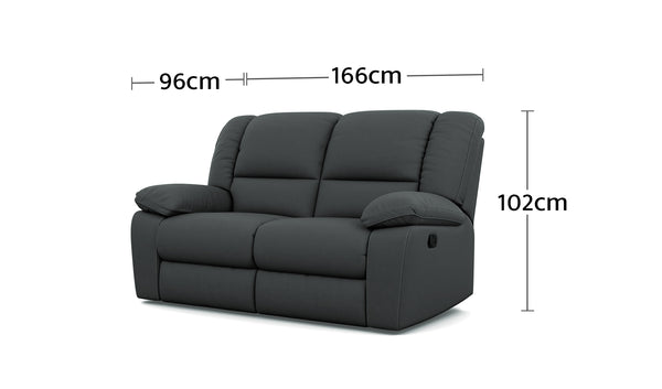 Harmony 2 Seater Dimensions