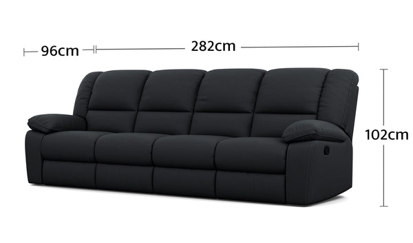 Harmony 4 Seater Dimensions