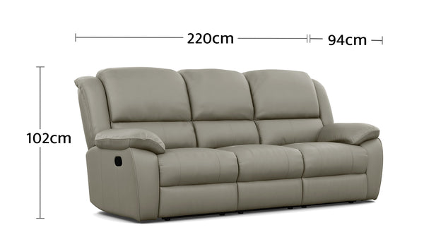 Kent 3 Seater Dimensions