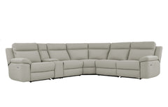 Monica 5 Seater Corner Modular with End Recliners