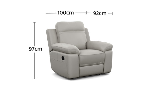 Monica Recliner Dimensions