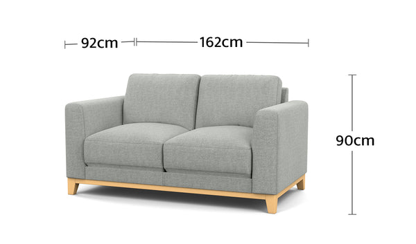 Nora 2 Seater Dimensions