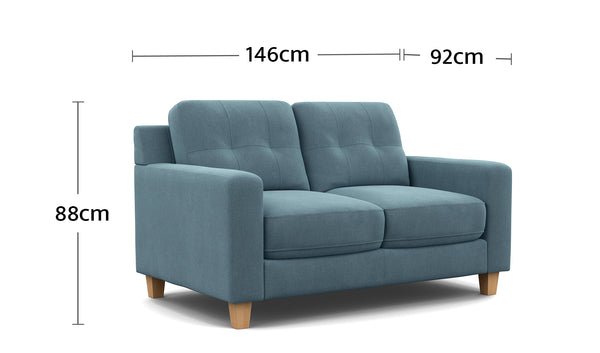Perry 2 Seater Dimensions