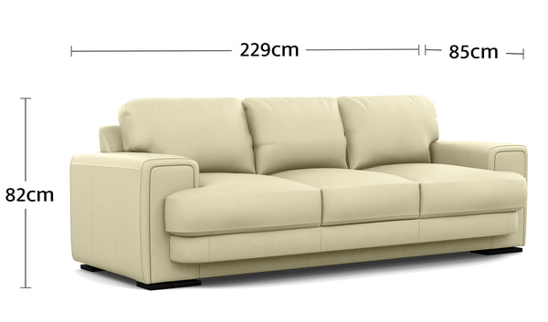 Royal 3 Seater Dimensions