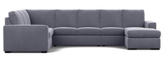 Urban 7 Seater Corner Modular Lounge with Reversible Chaise