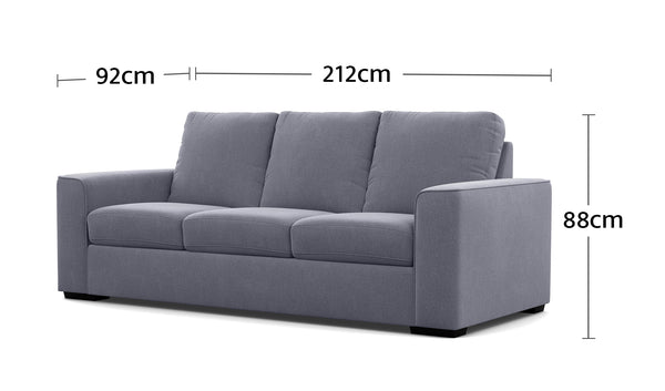 Urban 3 Seater Dimensions