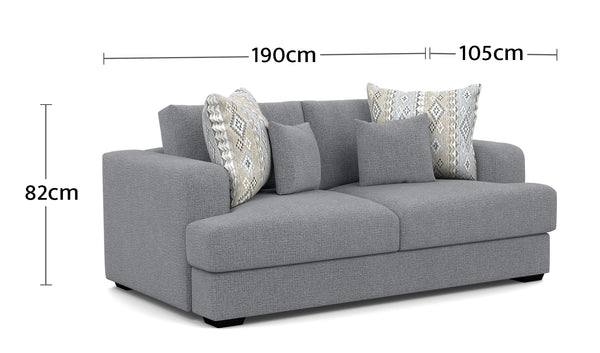 Watson 2.5 Seater Dimensions
