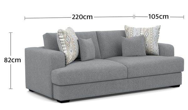 Watson 3 Seater Dimensions