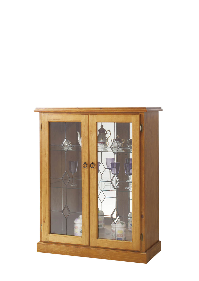 Mirrored China Display Cabinet 002